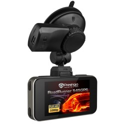 Car Video Recorder PRESTIGIO RoadRunner 545GPS (FHD 1920x1080@30 fps, 2.7 inch screen, NTK96650, 12 MP, 170˚ viewing angle, HDMI