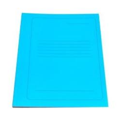 Segtuvas, spalvotas kartonas, A4 formato, mėlynos spalvos
