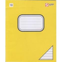 Sąsiuvinis EXTRA, 18 lapų, linijomis, 205x170, A5