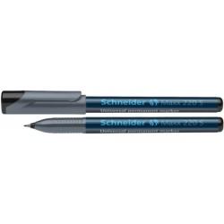 Žymiklis OHP 220 S, permanentinis, 0,5 mm, apvaliu galu, juodos sp.