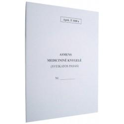 Asmens medicininė knygelė F.048/a