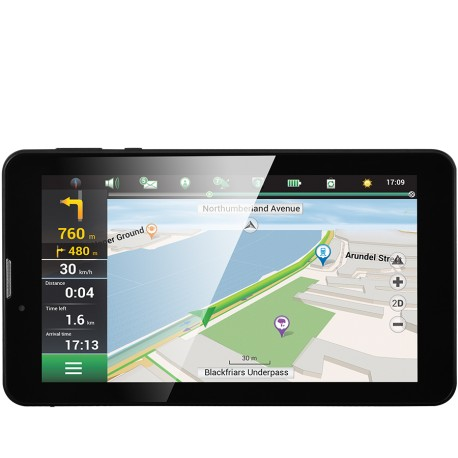 "Prestigio GeoVision Tour 2 (7.0"", TFT, 1024х600, Android 6.0, CPU Cortex A7 QC 1.3 GHz, 1 GB RAM, 8 GB internal, 0.3+2.0MP, FM,"