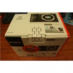 "SALE OUT. Sony A6000 Black Body Sony A6000 Body 24.3 MP, ISO 25600, Display diagonal 3 "", Wi-Fi, Exmor APS HD CMOS, Black, DEMO,"