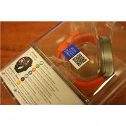 SALE OUT. MyKronoz Smartwatch Zesport Titanium/Orange MyKronoz ZESPORT DEMO, Touchscreen, Bluetooth, Heart rate monitor, GPS (sa