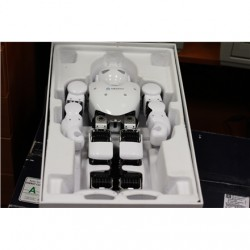 SALE OUT. Ubtech Alpha 1S App-enabled robot, Bluetooth, DEMO, USED, Aluminum, ABS, iOS, Android, Windows, Battery playtime 60 mi