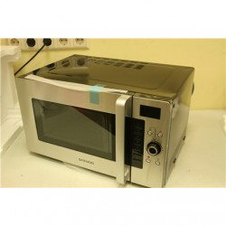 SALE OUT. Daewoo KOC-9Q4T Microwave oven/ 28L/ Stainless steel DAEWOO KOC-9Q4T Buttons, Rotary, 1400 W, Silver, FEW DENTS ON TOP