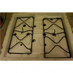 SALE OUT. Whirlpool AKM 260 IX Built-in Gas Hob, 4 burners, Stainless steel Whirlpool Gas Hob AKM260/IX Built-in, Number of burn