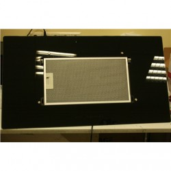 SALE OUT. Cata Titan 900 XGBK, Black Glass Wall hood, 750 kub.m/h, LED Lighting, Touch control, Brushless motor, EC A+ CATA TITA