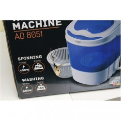 SALE OUT. Adler AD 8051 Mini washing machine with spinning function, Washing capacity up to 3kg, Spinning capacity up to 1kg, Wh