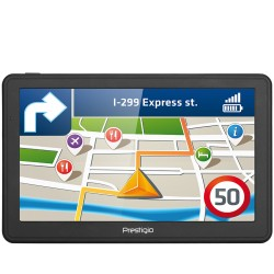 "Prestigio GeoVision 7059 (7.0"", TFT, 800х480, Win CE 6.0, CPU MSTAR 2531A 800 MHz, 128 MB RAM, 4 GB internal, FM, 1500 mAh, Dark"
