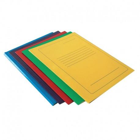 Segtuvas, spalvotas kartonas, A4 formato, geltonos spalvos