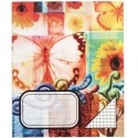 Sąsiuvinis, 24 lapai, langeliais, spalvotas viršelis, 200x165, A5