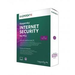 Antivirusinė Kaspersky Internet Security, 1 kompiuteris, 1 metai naujaratęsimas licencija/p
