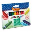 Vaškinės kreidelės JOVI, 12 spalvų