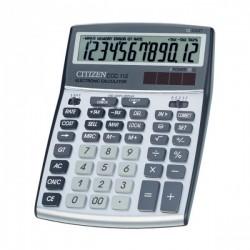 Skaičiuotuvas Citizen CCC-112WB su valiutos konvertavimo funkcija