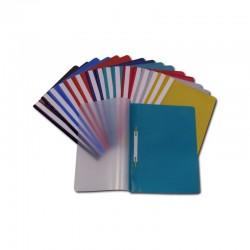 Segtuvėlis su įsegėle SWING, PP, mėlynos spalvos