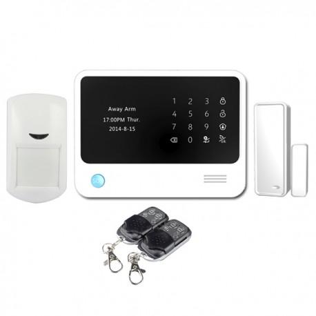 Bevielis apsaugos komplektas GSM+WiFi/GPRS GS-G90B