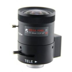 "Objektyvas HD 1/2"" 3.5-18mm 03518DC"