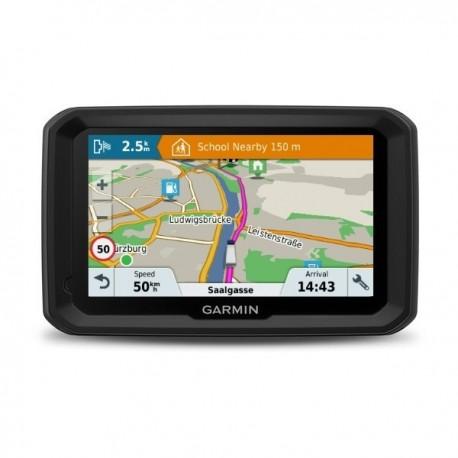 GPS navigacija Garmin dezl 580 LMT-D, skirta sunkvežimių vairuotojams, Europos žemėlapiai, nemokasmas žemėlapių atnaujinimas