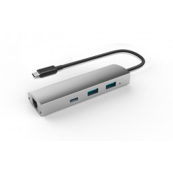 USB 3.1 to 2-Port USB3.0 HUB + 1-Port US