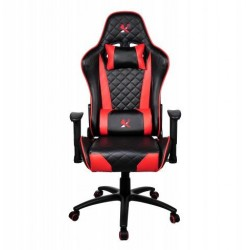 Žaidimų kėdė X2 G41, raudonai juoda. Žaidėjų džiaugsmui ir komfortui!