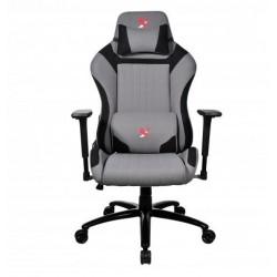 Žaidimų kėdė X2 WWG47-BB, pilkai juoda. Žaidėjų džiaugsmui ir komfortui!