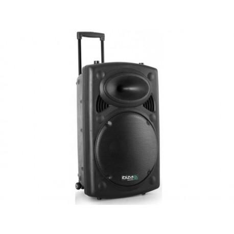 Nešiojama garso kolonėlė Ibiza PORT15VHF-BT 450WRMS, Bluetooth. Vasara su muzika!