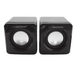 ESPERANZA Speakers 2.0 Leggiero EP111 Cube USB - 2 x 3W - After Repair!