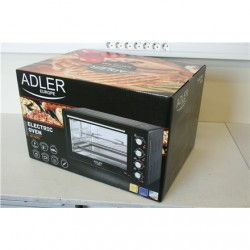 SALE OUT. Adler AD 6010 Electric oven, Capactity 45L, Power 2000W, 3 heating modes, Timer, Rotisserie and convection functions,
