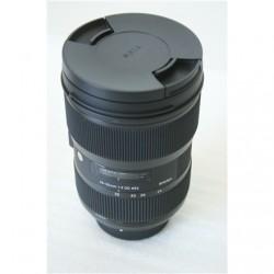 SALE OUT. Sigma 24-35mm F2.0 DG HSM for Nikon Art Sigma 24-35mm F2.0 DG HSM DEMO, FEW LIGHT SCRATCHES, NOT ORIGINAL LENS HOOD, N