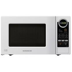 Microwave oven Daewoo KOR6S2DBW | 20L | 800W | White - after test, broken box