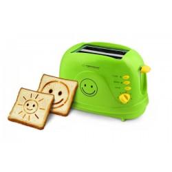 ESPERANZA EKT003 SMILEY - toaster 3 IN 1 - GREEN 750W - After Repair!