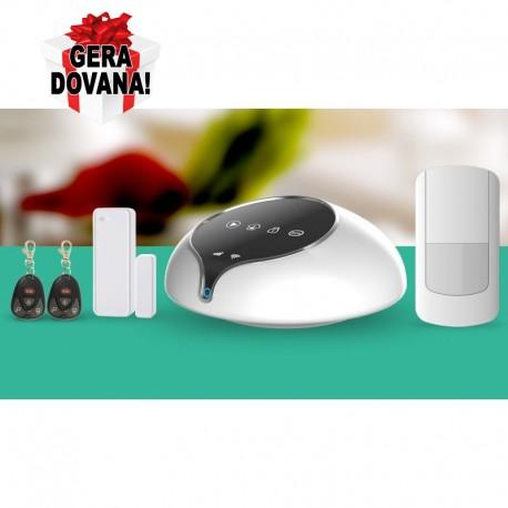 Bevielis apsaugos komplektas GSM+WiFi/GPRS/SMS GS-S1