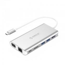 Jungčių stotelė ORICO USB XC-304-SV-PRO