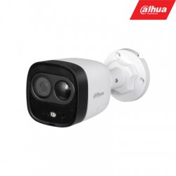 "HD-CVI, TVI, AHD, CVBS kamera cilindrinė 2MP LED iki 20m. 1/2.7"" 2.8mm 111°, PIR 10m., int. mik."