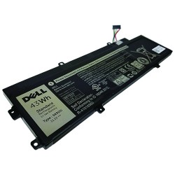 Notebook baterija, Extra Digital Selected, DELL KTCCN, 5R9DD XKPD0, 43 Wh