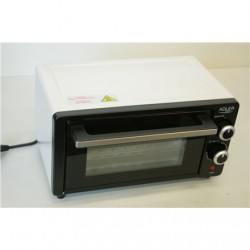 SALE OUT. Adler AD 6003 Electric oven, Capactity 9L, Power 1000W, 3 heating modes, Black/Silver Adler Mini oven AD 6003 9 L, Wit