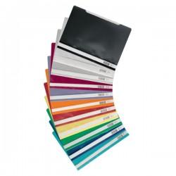 Segtuvas su įsegėle A4, įvairių spalvų