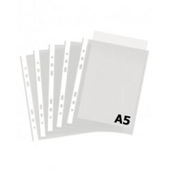 Įmautė dokumentams A5, 40 mikr., (pak. -100 vnt.), skaidri
