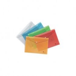 Aplankas (vokas) su spaustuku , A4, PP, raudona