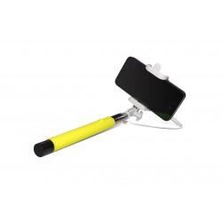 Asmenukių lazda Sponge selfie stick C su laidu
