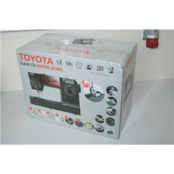 SALE OUT. Toyota SUPERJ26 Sewing Machine Toyota SUPERJ26 Black, Number of stitches 26, Number of buttonholes 4, DAMAGED PACKAGIN