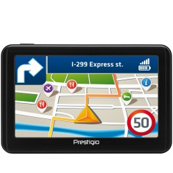 "Prestigio GeoVision 5060, 5"" (480*272) TN display, WinCE 6.0, 800MHz Mstar MSB2531 Cortex A7, 128MB DDR, 4GB Flash, 600mAh batte"