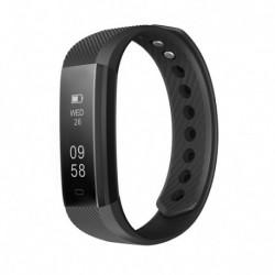 Išmanus laikrodis juodas SW370047 su širdies ritmo matuokliu.
