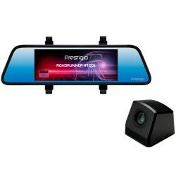 Prestigio RoadRunner 410DL, 7'' (1280x480) touch display, Dual camera: front - FHD 1920x1080@30fps, HD 1280x720@30fps, rear - VG