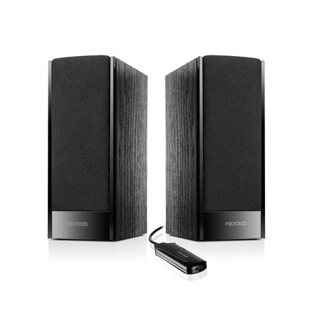 Kalonėlės Microlab B-56 Speaker type 2.0, 3.5mm, Black, 3 W