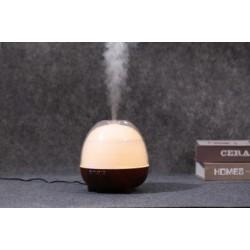 MiniMu oro drėkintuvas su aroma, šviečiantis 8 spalvomis, 600 ml talpos indas vandeniui