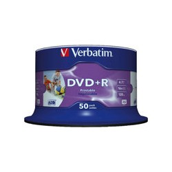VERBATIM 50x DVD+R 4,7GB 16x SP