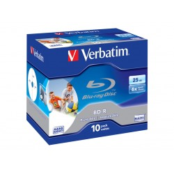 VERBATIM BD-R SINGLE LAYER 25GB