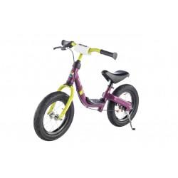 Balansinis dviratukas KETTLER RUN AIR 12.5 GIRL. Lengvai rieda, manevringas, rankinis stabdis.
